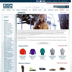 Women's Clothes by North Face, Arcteryx, Roxy & Patagonia Clothing