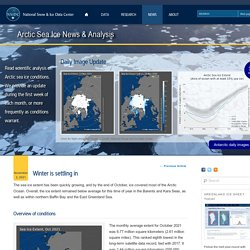 Arctic Sea Ice News & Analysis
