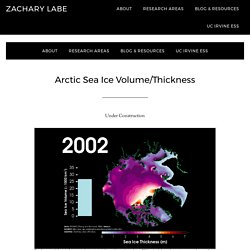*****Arctic Sea Ice Volume/Thickness (animations)