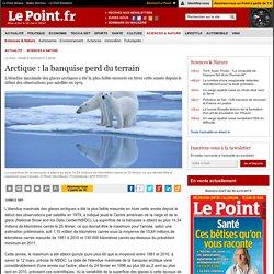 Arctique : la banquise perd du terrain