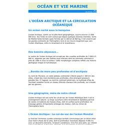 L'océan Arctique et la circulation océanique