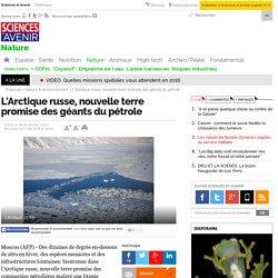 L'Arctique russe, nouvelle terre promise des géants du pétrole - 21 juin 2014