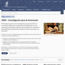 ARDI – Investigación para la Innovación