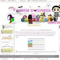 Ardoise guide seyes - Paulette trottinette