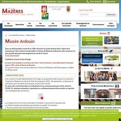 Musée Ardouin - Histoire de Mazères Ariège - Ville de Mazères