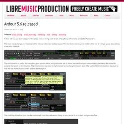 Ardour 5.6 released