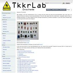 Arduino 37 sensors - TkkrLab