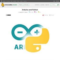 Arduino and Python: 4 Steps