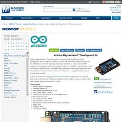 Arduino Mega Android Development Kit (Mega ADK)