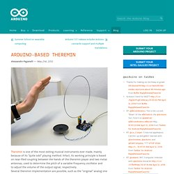 Blog » Blog Archive » Arduino-based theremin
