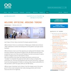 Blog » Blog Archive » Welcome Officine Arduino Torino