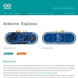ArduinoBoardEsplora