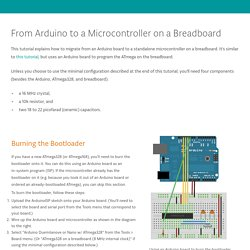 ArduinoToBreadboard