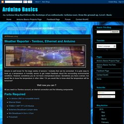 Arduino Basics: ITDB02