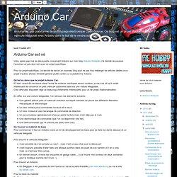 Arduino Car est né