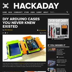 DIY Arduino Cases You Never Knew Existed