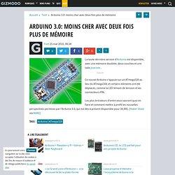 Arduino 3.0: moins cher avec deux fois plus de mémoire - Gizmodo