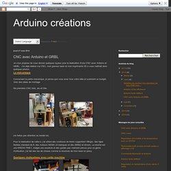 CNC avec Arduino et GRBL