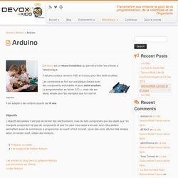 Arduino – Devoxx4Kids France