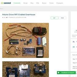 Arduino Grove WiFi Enabled Greenhouse - Seeed.cc