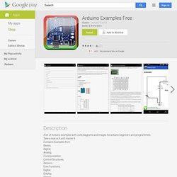 Arduino Examples Free - Android lietotnes pakalpojumā Google Play