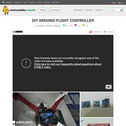 DIY ARDUINO FLIGHT CONTROLLER : 12 Steps