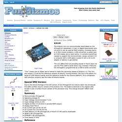 Arduino Uno SMB [Uno SMB] - $30.00 : FunGizmos, make something fun!