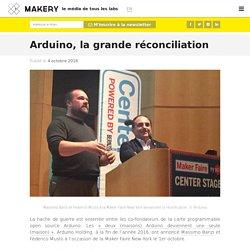 Arduino, la grande réconciliation