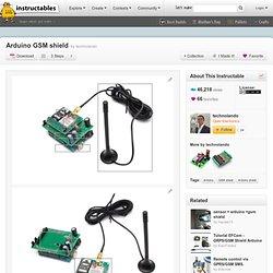 Arduino GSM shield