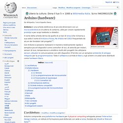 Arduino (hardware)