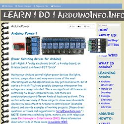 ArduinoPower