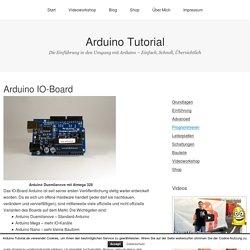 Arduino IO-Board