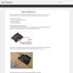 Arduino LM35 Sensor