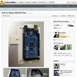 Arduino Mega 2560 R3 Plate
