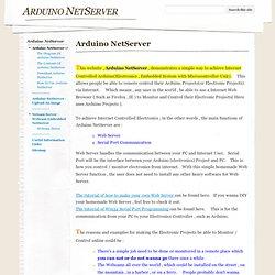 Arduino NetServer