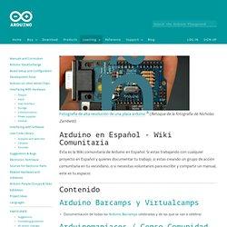 playground - Arduino en Español - Wiki Comunitaria
