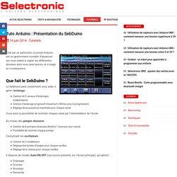 Tuto Arduino : Présentation du SebDuino