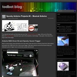 Spooky Arduino Projects #4 – Musical Arduino