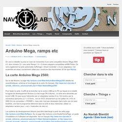 Projets et réalisations du Navlab
