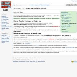 Arduino I2C Intro-ReaderVsWriter