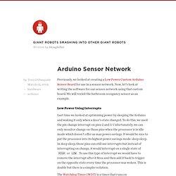 Arduino Sensor Network