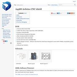 A4988 Arduino CNC shield - ElectroDragon