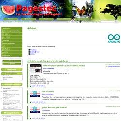 Arduino - Site Pagestec