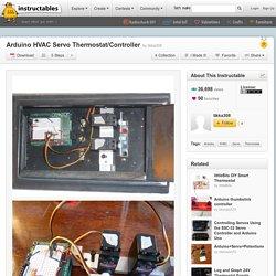 Arduino HVAC Servo Thermostat/Controller