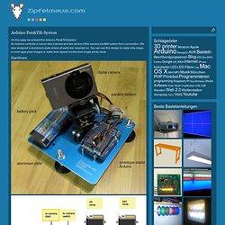 Arduino Pan&Tilt-System | Zipfelmaus - Blog