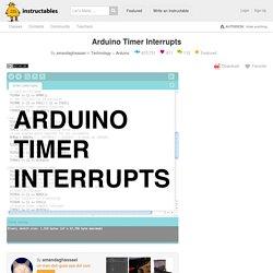 Arduino Timer Interrupts: 6 Steps