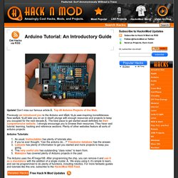 Arduino Tutorial: An Introductory Guide