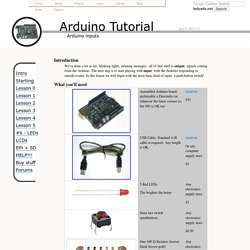 Arduino Tutorial - Lesson 5