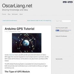 Arduino GPS Tutorial
