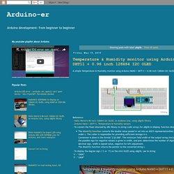 Arduino-er: u8glib